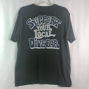 """""""SUPPORT YOUR LOCAL DIVE BAR"""" TEE BY JUNK FOOD"""